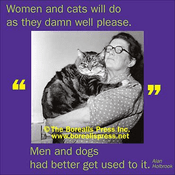 Magnet: Women And Cats