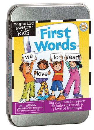 Magnetic Poetry Kit: First Words