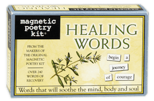 Magnetic Poetry Kit: Healing Words