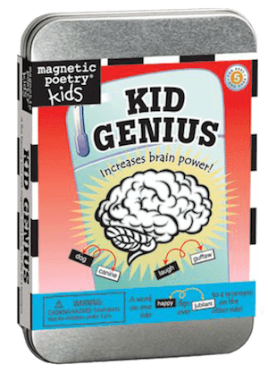 Magnetic Poetry Kit: Kid Genius