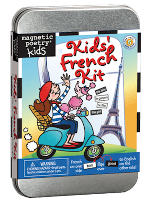Magnetic Poetry Kit: Kids' French Kit