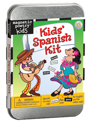 Magnetic Poetry Kit: Kids' Spanish Kit