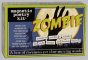Magnetic Poetry Kit: Zombie