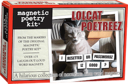 Magnetic Poetry: LOLCat Poetreez Kit