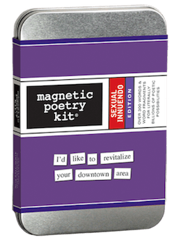 Magnetic Poetry: Sexual Innuendo Kit