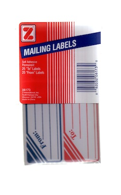 "Mailing Labels ""To/From"""
