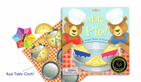 Make A Pie!  Math Spinner Game