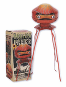 Martian Invader Tin Toy