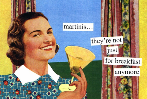 Martinis They're Not Just for Breakfast