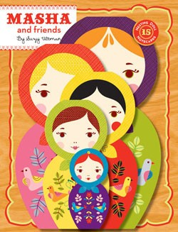 Masha & Friends: 15 Nesting Doll Notecards