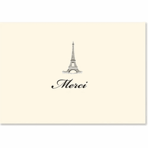Merci Thank You Notes