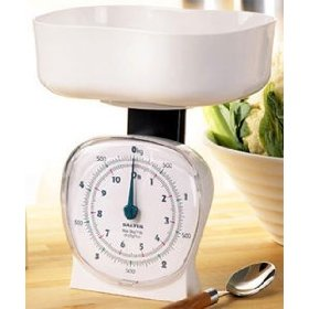 Midrange Kitchen Scale White