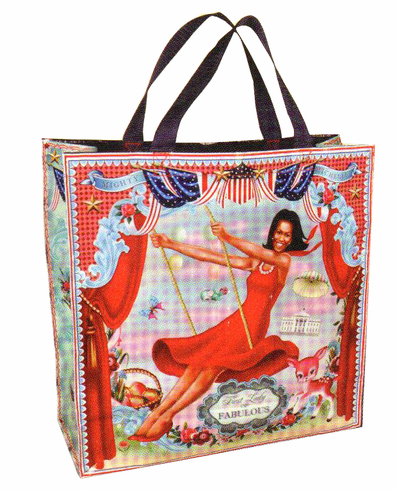 Mighty Michelle Tote Bag