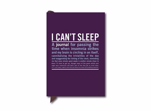 Mini Journal - I Can't Sleep