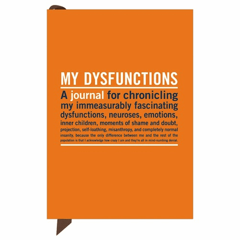 Mini Journal - My Dysfunctions