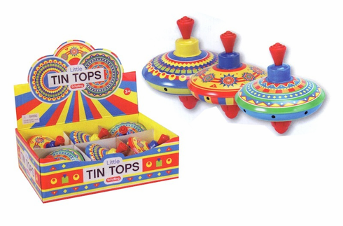Mini Tin Tops