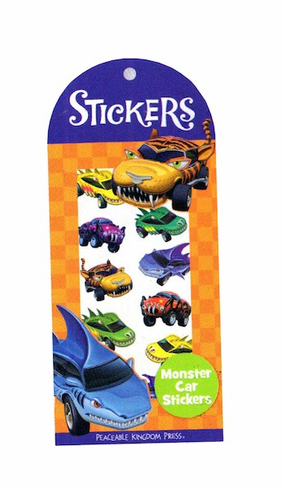 Monster Car Stickers