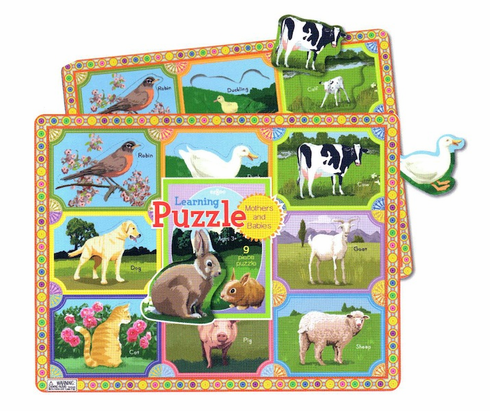 Mother's and Babies Puzzle