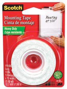 Mounting Tape 0.5 in x 75 in