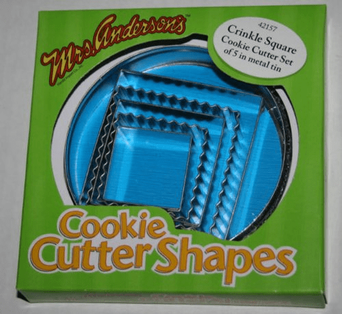 Mrs. Anderson's Cookie Cutter Shapes
