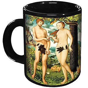 Mug: Adam and Eve