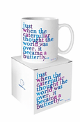 Mug: Become a Butterfly