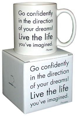 Mug: Go Confidently