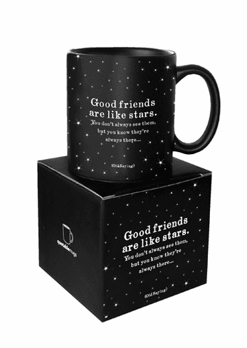 Mug: Good Friends Are Like Stars