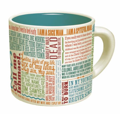 Mug: Greatest First Lines