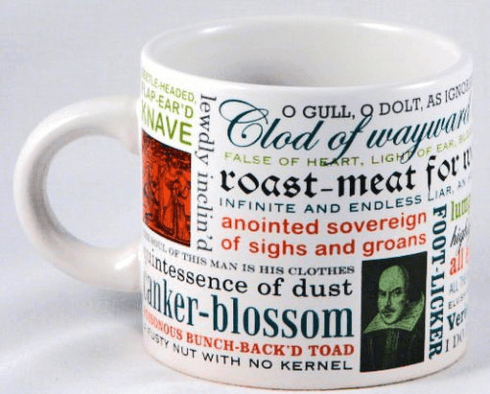 Mug: Shakespearean Insults