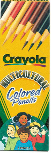 Multicultural Colored Pencils