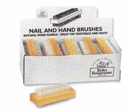 Nail and Vegetable Brush