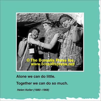 Napkins: Alone We Can Do Little