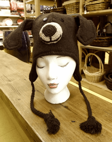 Nepali Wool Adult Dog Hat