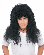 New Wave 80's Rock Star Wig