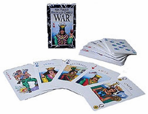 Non-Violent, Politically-Correct War Card Game