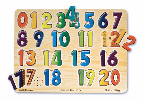 Numbers Sounds Puzzle