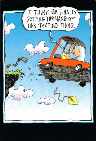 Off the Cliff Texting