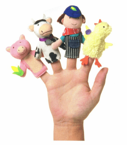 Old McDonald Finger Puppet Set