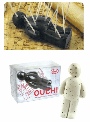 Ouch! Toothpick Holder