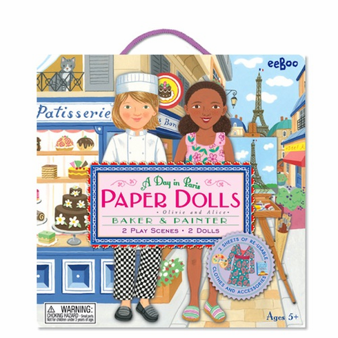 Paper Dolls - Olivie and Alice