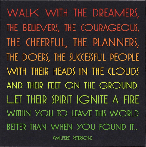 Peterson - Walk with Dreamers
