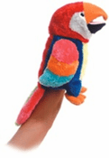 Petey the Parrot Hand Puppet