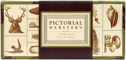 Pictoral Webster's Stamp Kit: Flora and Fauna