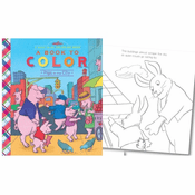 Pigs in the City Coloring Book