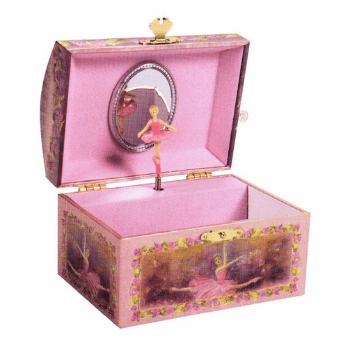 Pink Jewel Jewelry Box