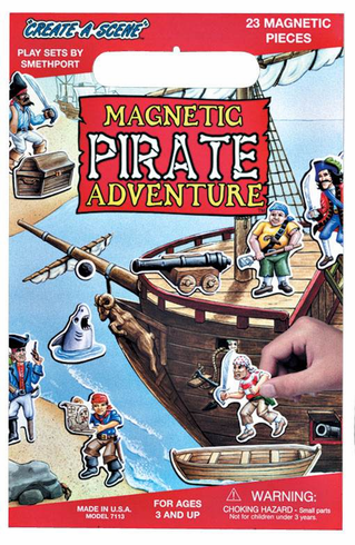 Pirate Adventure Magetic Set