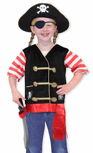Pirate Role Play Costume Play Set