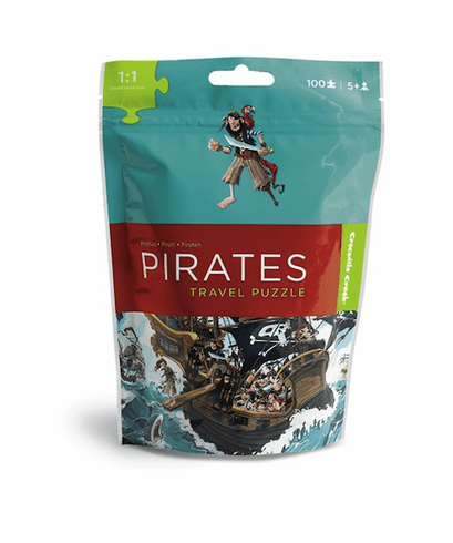 Pirate Travel Pouch Puzzle