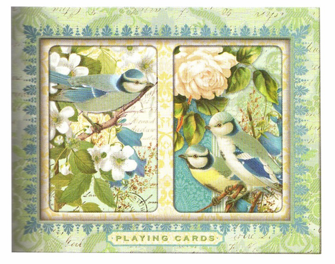 PLAYING CARDS: Blue Birds